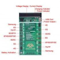 Batterij activatie tool - iPhone/Samsung - W208A+