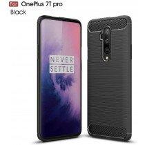Carbon TPU hoesje OnePlus 7T Pro zwart