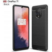 Carbon TPU hoesje OnePlus 7T zwart