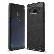Carbon TPU hoesje Samsung Galaxy Note 8 zwart