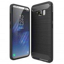 Carbon TPU hoesje Samsung Galaxy S8 Plus zwart