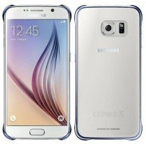 Clear cover Samsung Galaxy S6 EF-QG920BBE zwart