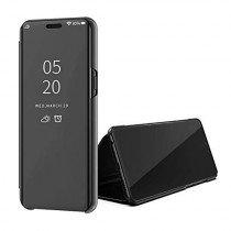 Clear View cover Samsung Galaxy A50s zwart