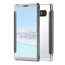 Clear View cover Samsung Galaxy Note 8 zilver