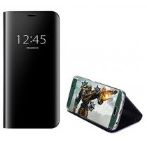 Clear View cover Samsung Galaxy S7 Edge zwart