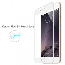 Curved Tempered Glass Apple iPhone 6/6S - wit