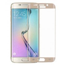 Curved Tempered Glass Samsung Galaxy S6 Edge goud