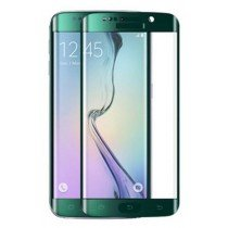 Curved Tempered Glass Samsung Galaxy S6 Edge groen