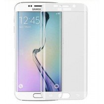 Curved Tempered Glass Samsung Galaxy S6 Edge wit