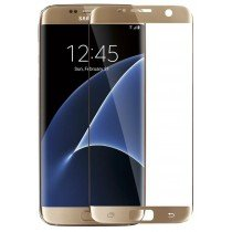 Curved Tempered Glass Samsung Galaxy S7 Edge goud