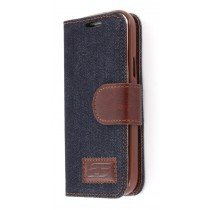 Flip case met stand Denim Samsung Galaxy S4 Mini i9195