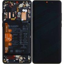 Display module Huawei P30 Pro zwart (Service Pack)