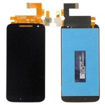 Display Module Motorola Moto G4 zwart