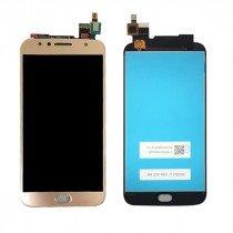 Display Module Motorola Moto G5S Plus goud