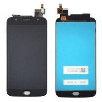Display Module Motorola Moto G5S Plus zwart