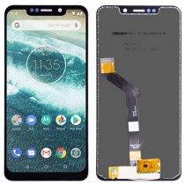 Display Module Motorola Moto G7 Power zwart