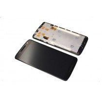 Display Module Motorola Moto X Play zwart