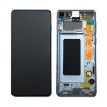 Display module Samsung Galaxy S10 blauw