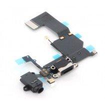 Dock connector flex kabel zwart voor Apple iPhone 5C
