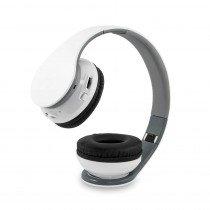 Draadloze bluetooth koptelefoon wit