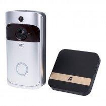 Draadloze video deurbel met intercom (via app smartphone) functie - 720P/WiFi/PI