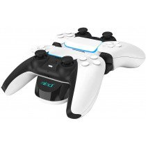 Dual snellader laad station voor 2x Playstation 5 controller