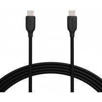Extra lange USB-C naar USB-C kabel - 100W - 3 meter - zwart