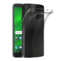 Flexi bumper Motorola Moto G6 Plus - 0,3mm - doorzichtig