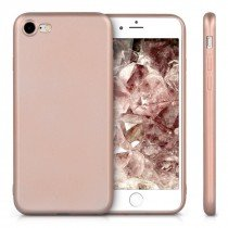 Flexibel soft hoesje Apple iPhone 7 rose goud