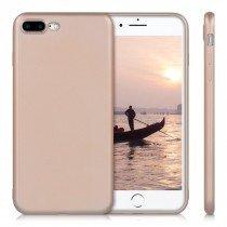 Flexibel soft hoesje Apple iPhone 8 Plus rose goud