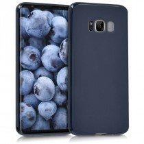 Flexibel soft hoesje Samsung Galaxy S8 donker blauw