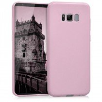 Flexibel soft hoesje Samsung Galaxy S8 roze
