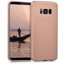 Flexibel soft hoesje Samsung Galaxy S8 rose goud