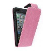 Flip case Apple iPhone 5 / 5S roze