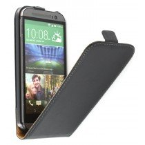 M-Supply Flip case dual color HTC One M8 zwart