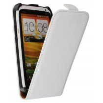 Flip case dual color HTC One X / One X+ wit