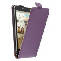 Flip case dual color Huawei Ascend P6 paars