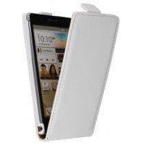 Flip case dual color Huawei Ascend P6 wit