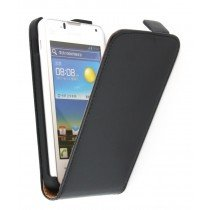 Flip case dual color Huawei Ascend Y300 zwart