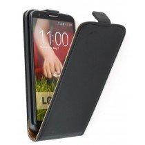 Flip case dual color LG G2 D802 zwart