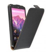 Flip case dual color LG Nexus 5 zwart