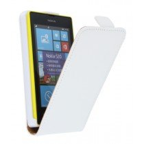Flip case dual color Nokia Lumia 520 wit
