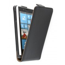Flip case dual color Nokia Lumia 720 zwart