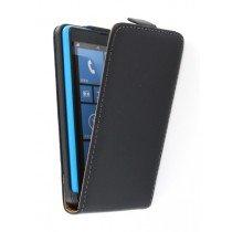 Flip case dual color Nokia Lumia 820 zwart