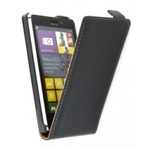 Flip case dual color Nokia Lumia 925 zwart