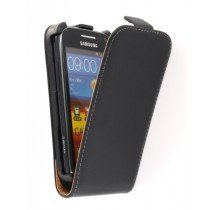 Flip case dual color Samsung Galaxy Ace 2 i8160 zwart