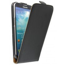 Flip case dual color Samsung Galaxy Mega i9200 zwart