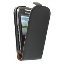 Flip case dual color Samsung Galaxy Xcover 2 S7710 zwart