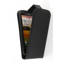 Flip case HTC One SV zwart