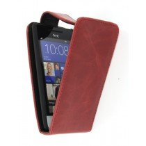 Flip case HTC 8S rood
